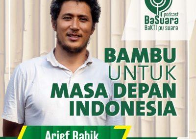 Arief Rabik on BaKTI Basuara Podcast
